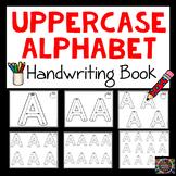 Differentiated Uppercase Alphabet Handwriting