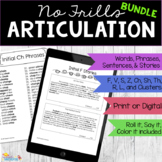No Frills Articulation Bundle