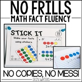 No Frills Fluency: Addition & Subtraction Math Facts