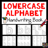 Differentiated Lowercase Alphabet Handwriting