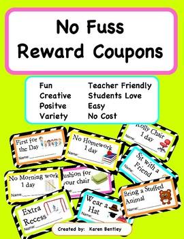 No Fuss Reward Coupons