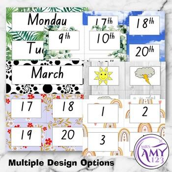 No Fuss Class Flip Calendar