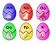 No Fuss Easter Egg Alphabet Match Full Pack PLUS