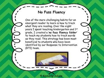 Fluency (No Fuss Fluency)