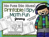 I SPY No Fuss No Muss Printable Math Fun for January-Diffe