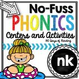 No-Fuss Phonics -nk {ink, ank, onk, unk}