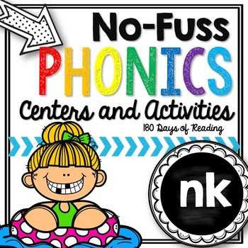 No-Fuss Phonics -nk {ink, ank, onk, unk}