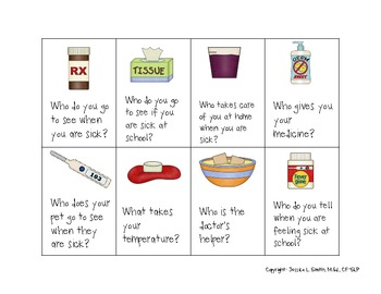 No Germs Allowed!-Expressive and Receptive WH Questions