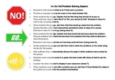 No Go Tell Problem Solving Strategy