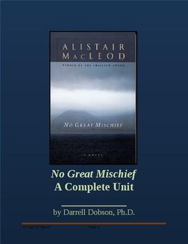 No Great Mischief -- Alistair MacLeod -- Complete Unit