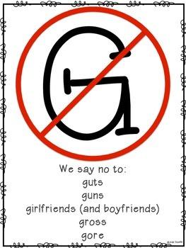 No G's Poster