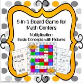 Multiplication Games 3rd Grade {3.OA.1}