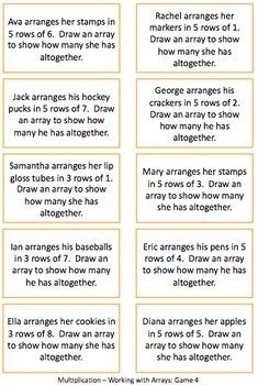 Multiplication Arrays 3rd Grade {3.OA.1}