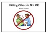 No Hitting / Keep my Hands to Myself Social Narrative Story