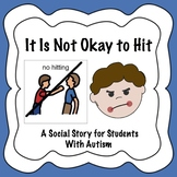 No Hitting Social Story for Student with Autism and Special Needs