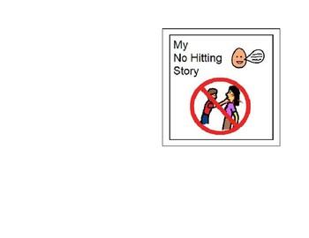No Hitting; Use Words - A social story