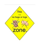 No Hogs or Logs (SMART notebook version)