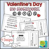 Valentine's Day Cards | No Homework Pass