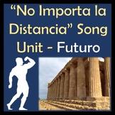 No Importa la Distancia Spanish Song Lyrics & Activities - Futuro - Hercules