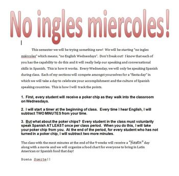 No Ingles Miercoles!