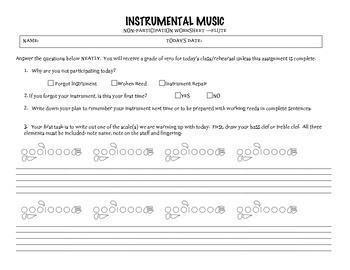 No Instrument Assignment