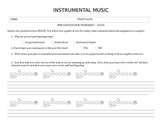 No Instrument Assignment (word doc)
