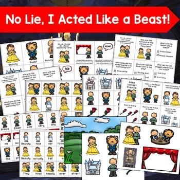 No Lie, I Acted Like a Beast Book Companion