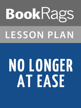 No Longer at Ease Lesson Plans