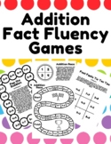 No/Low Prep Addition Fact Fluency Math Games to Practice Math Facts up to 20