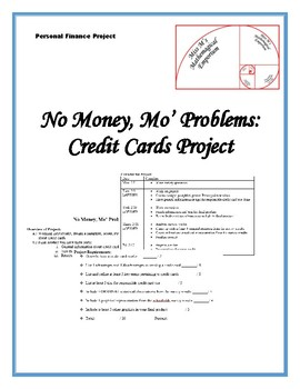 No Money Mo' Problems Credit Card Project