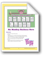 No Monkey Business Here (Bulletin Board)