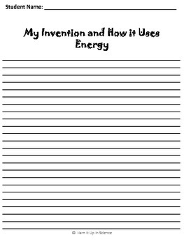 Uses of Energy Project-Invention Creation-No More Household Chores
