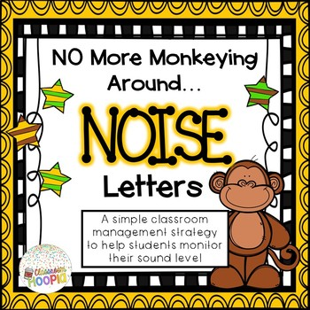 No More Monkeying Around NOISE Letters