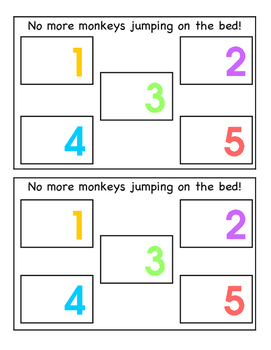 No More Monkeys Jumping on the Bed! A Counting Book