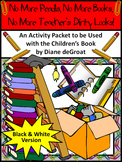 No More Pencils, No More Books End of Year Activity Packet