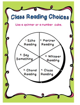 No More Round Robin Reading: Oral Reading Strategies Pack