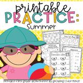 Summer Printable Practice