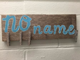 No Name Classroom Boards