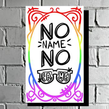 No Name - Classroom Poster