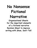 No Nonsense Fictional Narrative