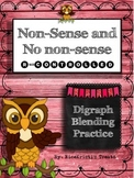 No Nonsense and Nonsense Digraph Blends: R-Controlled