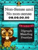 No Nonsense and Nonsense Digraph Blends: ai, ay, oa, ow