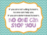 """""""No One Can Stop You"""" Inspirational Quote Printable: NOW with two sizes!"""