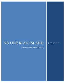 No One is an Island - Interdisciplinary Lesson