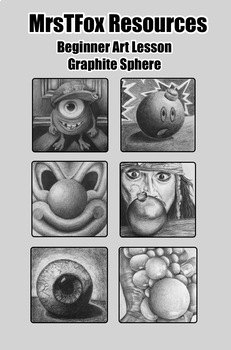Drawing - No Outlines! Graphite Pencil Sphere Lesson