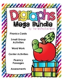 No PREP Digraph MEGA BUNDLE (ch, ck, ph, sh, th, wh)