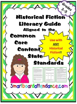 No PREP Historical Fiction Literacy Guide Aligned to the C