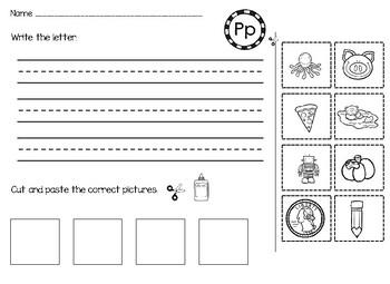 No PREP Kindergarten work- 1st sound