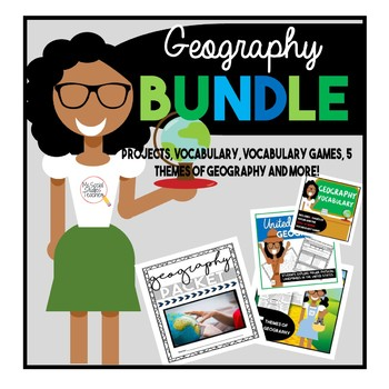Civics U.S. Geography and Map Skills Bundle