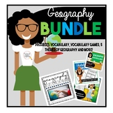 Civics U.S. Geography and Map Skills Bundle